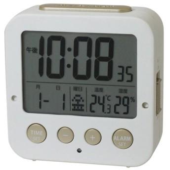 Wアラーム デジタル 電波時計 IAC-5637-WTD
