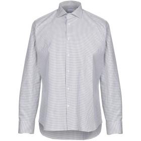 《期間限定セール開催中!》ALESSANDRO BONI メンズ シャツ グレー 41 コットン 100%