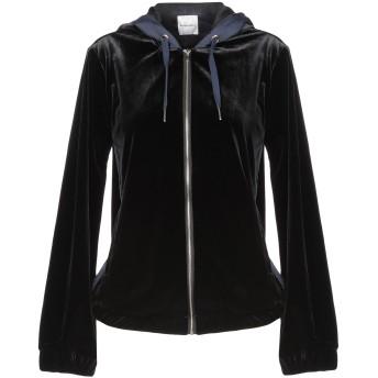 《9/20まで! 限定セール開催中》SILVIAN HEACH レディース スウェットシャツ ブラック XXS ポリエステル 92% / ポリウレタン 8%