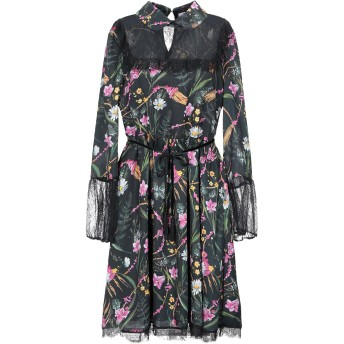 《セール開催中》BLUGIRL BLUMARINE レディース ミニワンピース&ドレス ブラック 40 ポリエステル 100% / ナイロン