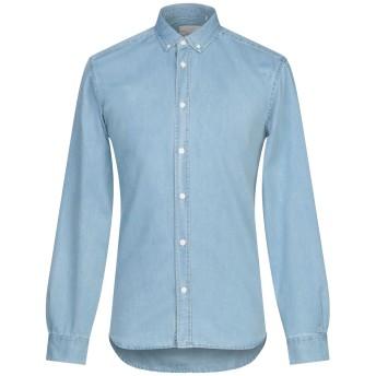 《期間限定 セール開催中》MINIMUM メンズ デニムシャツ ブルー S コットン 100%