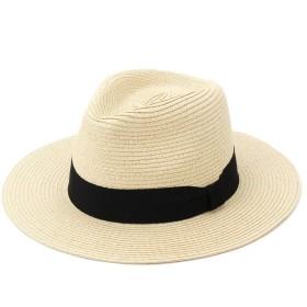 麦わら・ストローハット・カンカン帽 - MERCURYDUO ブレード中折れハット