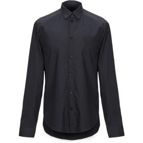 《期間限定セール開催中!》FRANKIE MORELLO メンズ シャツ ブラック S コットン 100%