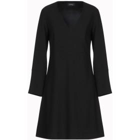 《期間限定セール中》OTTOD'AME レディース ミニワンピース&ドレス ブラック 40 ポリエステル 100%