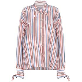 《期間限定 セール開催中》LE SARTE PETTEGOLE レディース シャツ 赤茶色 42 指定外繊維(テンセル) 74% / シルク 24% / コットン 2%