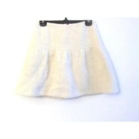 【中古】 バーバリーブルーレーベル Burberry Blue Label スカート サイズ38 M レディース アイボリー