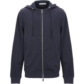 《期間限定セール開催中!》BIKKEMBERGS メンズ スウェットシャツ ダークブルー S コットン 100%