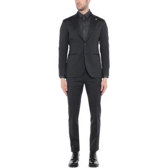 《セール開催中》LUIGI BIANCHI Mantova メンズ スーツ スチールグレー 52 ウール 98% / ポリウレタン 2%