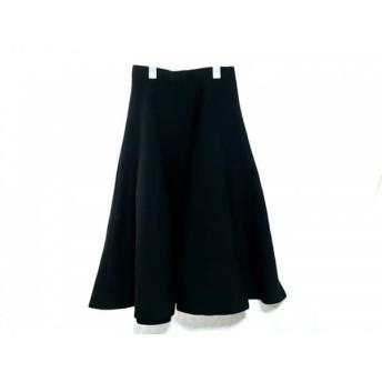 【中古】 ルシェルブルー LE CIEL BLEU ロングスカート サイズF レディース 黒