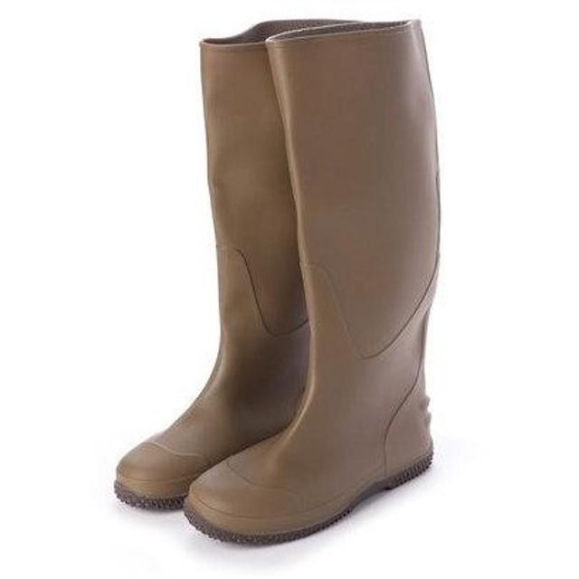 エニーウォーク Anywalk Folding Rain Boot レインブーツパッカブル携帯用巾着袋付・aw_19044 (KHAKI)