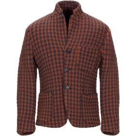 《期間限定 セール開催中》BRIAN DALES メンズ テーラードジャケット ブラウン 50 ナイロン 58% / ウール 42%