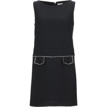 《セール開催中》TWENTY EASY by KAOS レディース ミニワンピース&ドレス ブラック 42 ポリエステル 100%