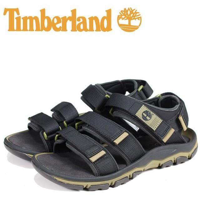 ティンバーランド Timberland サンダル スポーツサンダル メンズ ROSLINDALE SANDAL ブラック A1ZT2