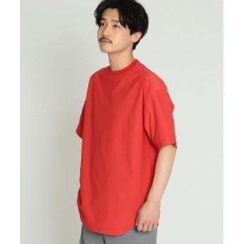 BEAMS / プレーティング 天竺 Tシャツ メンズ Tシャツ RED XL