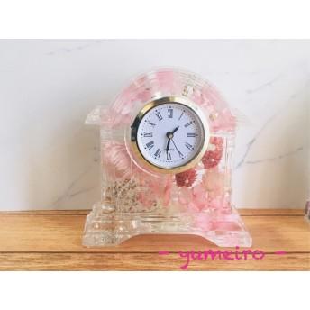 ハーバリウム置き時計