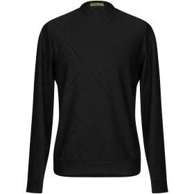 《期間限定セール開催中!》VERSACE JEANS メンズ T シャツ ブラック S ポリエステル 98% / ポリウレタン 2%