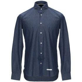 《期間限定セール開催中!》TINTORIA MATTEI 954 メンズ デニムシャツ ブルー 38 コットン 100%