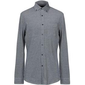 《期間限定 セール開催中》GUESS BY MARCIANO メンズ シャツ ダークブルー L コットン 100%