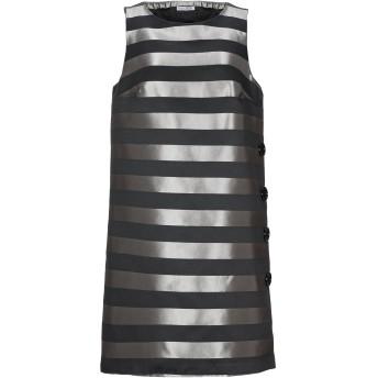 《期間限定セール開催中!》HOPE COLLECTION レディース ミニワンピース&ドレス 鉛色 L ポリエステル 100%