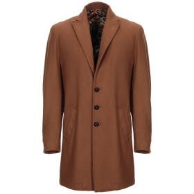 《期間限定セール開催中!》NEILL KATTER メンズ コート キャメル 48 ウール 70% / ナイロン 25% / 指定外繊維 5%