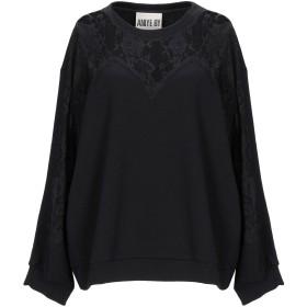 《期間限定セール開催中!》ANIYE BY レディース スウェットシャツ ブラック S コットン 100%