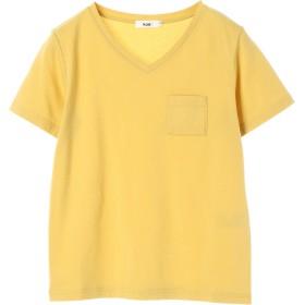 【6,000円(税込)以上のお買物で全国送料無料。】Vネックポケット付きTシャツ