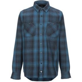《期間限定 セール開催中》DICKIES メンズ シャツ ブルーグレー S コットン 100%