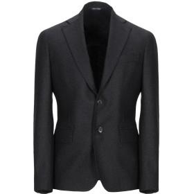 《セール開催中》BRIAN DALES メンズ テーラードジャケット ブラック 48 毛(アルパカ) 48% / ウール 27% / シルク 18% / ナイロン 7%