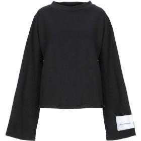 《期間限定 セール開催中》CHEAP MONDAY レディース スウェットシャツ ブラック S コットン 60% / ポリエステル 40%