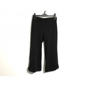 【中古】 ギャラリービスコンティ GALLERYVISCONTI パンツ サイズ2 M レディース 黒