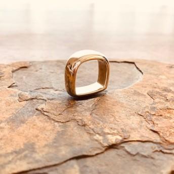 アーチ リング サイズ直し可能 銀 無垢 925 指輪 レディース メンズ