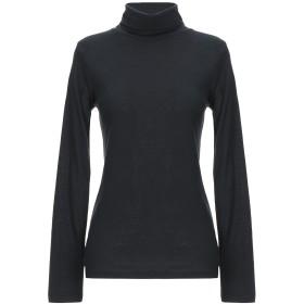 《期間限定セール開催中!》CROSSLEY レディース T シャツ ブラック XS コットン 85% / カシミヤ 15%