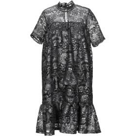 《期間限定セール開催中!》VANESSA SCOTT レディース ミニワンピース&ドレス 鉛色 S ポリエステル 100%