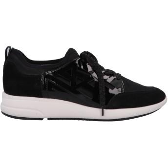 《セール開催中》GEOX レディース スニーカー&テニスシューズ(ローカット) ブラック 35 紡績繊維