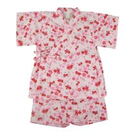 ベビーザらス限定 キッザらス 金魚柄パステル 甚平スーツ(ピンク×80cm)【送料無料】