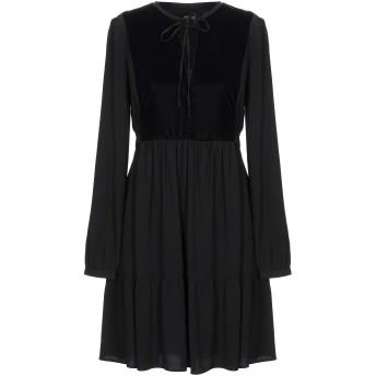 《セール開催中》PINKO レディース ミニワンピース&ドレス ブラック 40 レーヨン 100% / ポリエステル