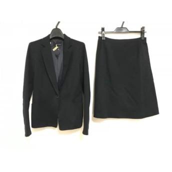 【中古】 ヴァンドゥ オクトーブル 22OCTOBRE スカートスーツ サイズ38 M レディース 黒