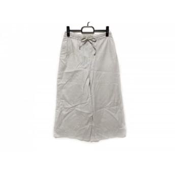 【中古】 ミズイロインド mizuiro ind パンツ サイズ2 M レディース 美品 アイボリー
