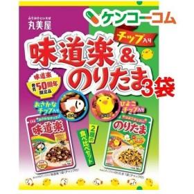 丸美屋 チップ入り 味道楽&のりたま ( 36g3袋セット )/ 丸美屋
