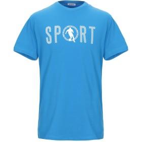 《9/20まで! 限定セール開催中》BIKKEMBERGS メンズ T シャツ アジュールブルー XS コットン 92% / ポリウレタン 8%
