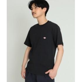 DANTON / ロゴ ポケット Tシャツ メンズ Tシャツ BLACK 36