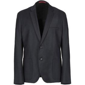 《期間限定セール開催中!》HUGO HUGO BOSS メンズ テーラードジャケット ダークブルー 46 コットン 50% / ポリエステル 27% / バージンウール 23%