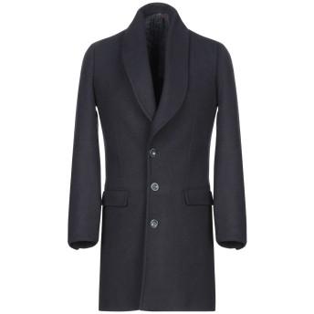 《期間限定セール開催中!》LABORATORI ITALIANI メンズ コート ダークブルー 44 アクリル 50% / ポリエステル 25% / ウール 20% / 指定外繊維 5%