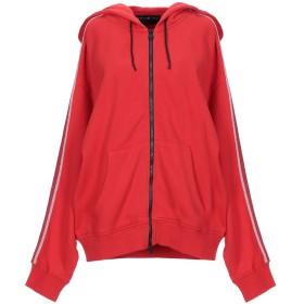 《送料無料》HYDROGEN レディース スウェットシャツ レッド XS コットン 100%