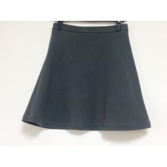 【中古】 ウィムガゼット whim gazette ミニスカート サイズ36 S レディース ダークグレー