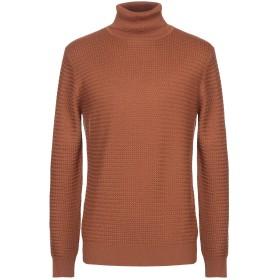 《セール開催中》JEORDIE'S メンズ タートルネック ブラウン XL ウール 50% / アクリル 50%