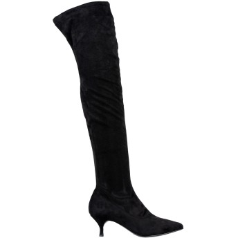 《セール開催中》ELENA IACHI レディース ブーツ ブラック 36 紡績繊維