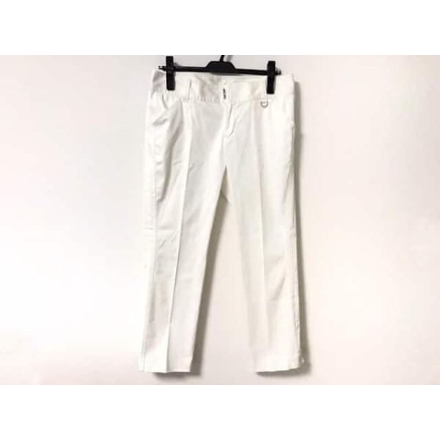 【中古】 ニューヨーカー NEW YORKER パンツ サイズ70-95 レディース 白