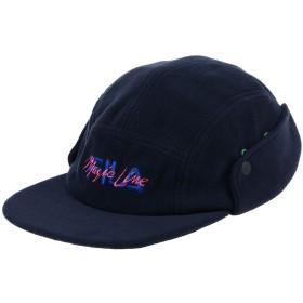 《期間限定 セール開催中》FILA メンズ 帽子 ダークブルー one size ポリエステル 100%