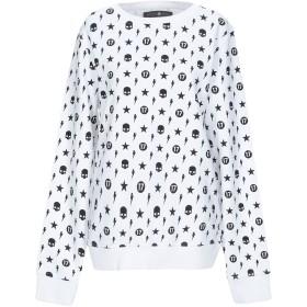 《セール開催中》HYDROGEN レディース スウェットシャツ ホワイト XS コットン 100%